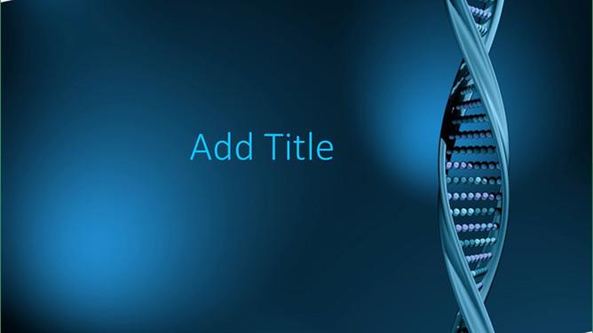 DNA醫學PPT 免費下載