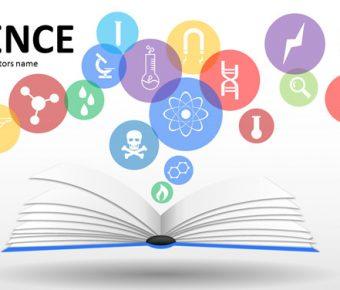 【學術分析PPT】高質量的24頁學術分析PPT模板下載,靜態實驗結果簡報的模板擋