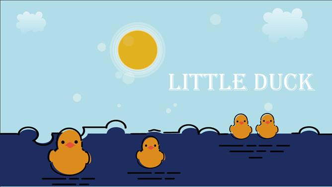 黃色小鴨PPT 免費下載