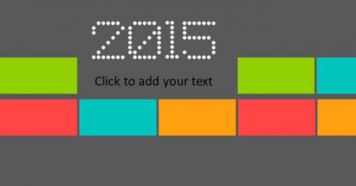 【豐富色彩PPT】優質的23頁豐富色彩PPT模板下載,靜態色塊分類簡報的模板擋