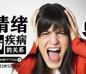【情緒培養PPT】優質的5頁情緒培養PPT模板下載,動態情緒定義簡報的範本格式