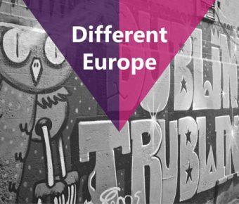 【城市介紹PPT】高品質的18頁城市介紹PPT模板下載,靜態歐洲旅遊簡報的模板擋