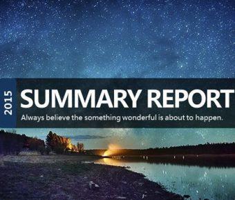 【工作報告PPT】推薦的23頁工作報告PPT模板下載,靜態藍色簡約範本的編輯格式