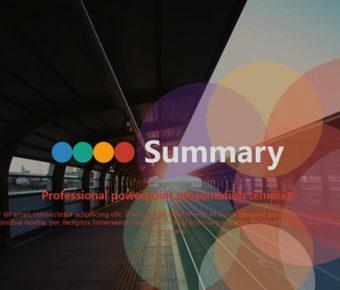 【時尚配色PPT】高品質的33頁時尚配色PPT模板下載,靜態商務會議範本的範例格式