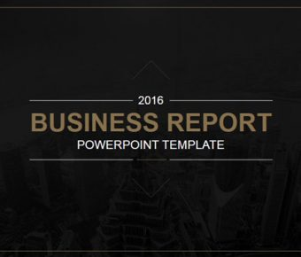 【企業報告PPT】很棒的23頁企業報告PPT模板下載,靜態商業分析簡報的頁面檔