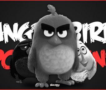 【憤怒鳥PPT】憤怒鳥PPT模板下載,憤怒鳥範本的範例套用