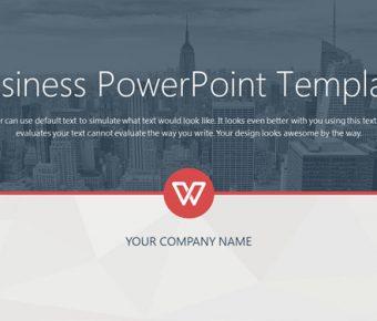 【國際企業PPT】高品質的23頁國際企業PPT模板下載,靜態商務背景簡報的模板格式