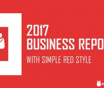 【商業報告PPT】精緻的15頁商業報告PPT模板下載,靜態商務簡報範本的範例格式