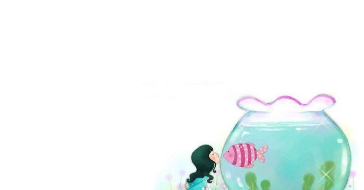 【PPT女孩插畫】精緻的10頁PPT女孩插畫模板下載,靜態插畫背景素材的頁面格式