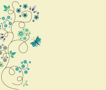 【PPT迷蝶花背景】精品的5頁PPT迷蝶花背景模板下載,靜態藝術花朵素材的簡報格式
