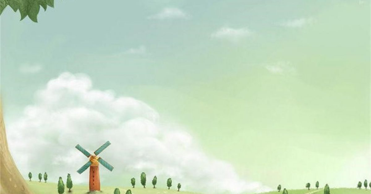 【PPT鄉村背景】華麗的5張PPT鄉村背景模板下載,靜態田園風景封面的樣式作業檔