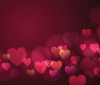 【PPT紅色愛心】高質量的3張PPT紅色愛心模板下載,靜態愛心簡報封面的範例作業檔