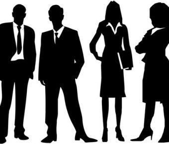 【PPT人物剪影】優秀的114頁PPT商務人物剪影下載,靜態會議簡報人物的模板格式檔