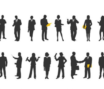 【PPT剪影素材】最好的16張PPT剪影素材下載,靜態辦公室人物圖的範本格式