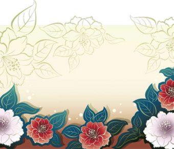 【PPT牡丹背景】華麗的7頁PPT牡丹背景模板下載,靜態牡丹素材圖案的佈景格式檔