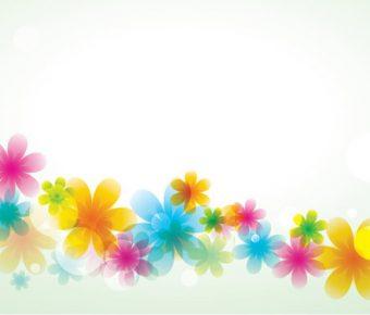 【PPT花朵背景】高質感的2頁PPT花朵背景模板下載,靜態簡約花朵封面的簡報主題檔