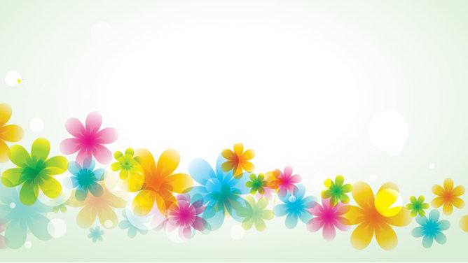 PPT花朵背景 模板下載 | 天天瘋PPT