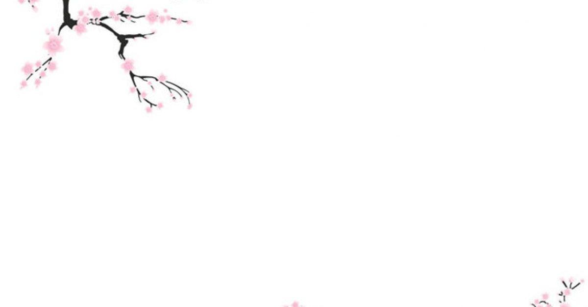 【PPT梅花背景】精細的3頁PPT梅花背景模板下載,靜態梅花圖片素材的素材格式