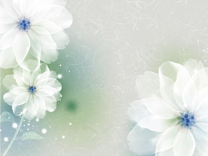 PPT夢幻花朵 模板下載 | 天天瘋PPT