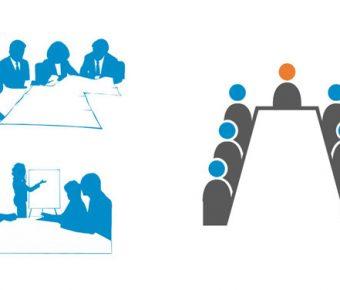 【PPT會議圖案】極致的7張PPT會議圖案下載,靜態開會談話素材的範例作業檔