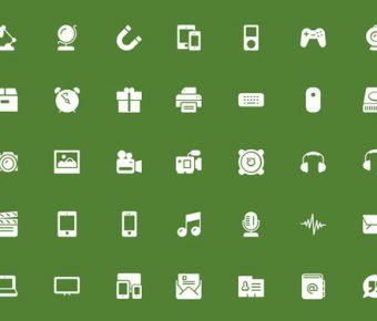 【PPT簡約icon】無暇的3頁PPT簡約icon下載,靜態彩色扁平化素材的素材作業檔