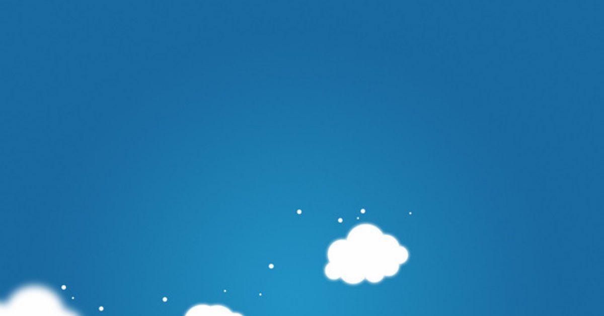 【PPT白雲封面】齊全的1張PPT白雲封面模板下載,靜態雲朵背景素材的素材作業檔