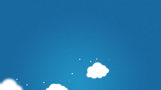 PPT白雲封面 模板下載 | 天天瘋PPT