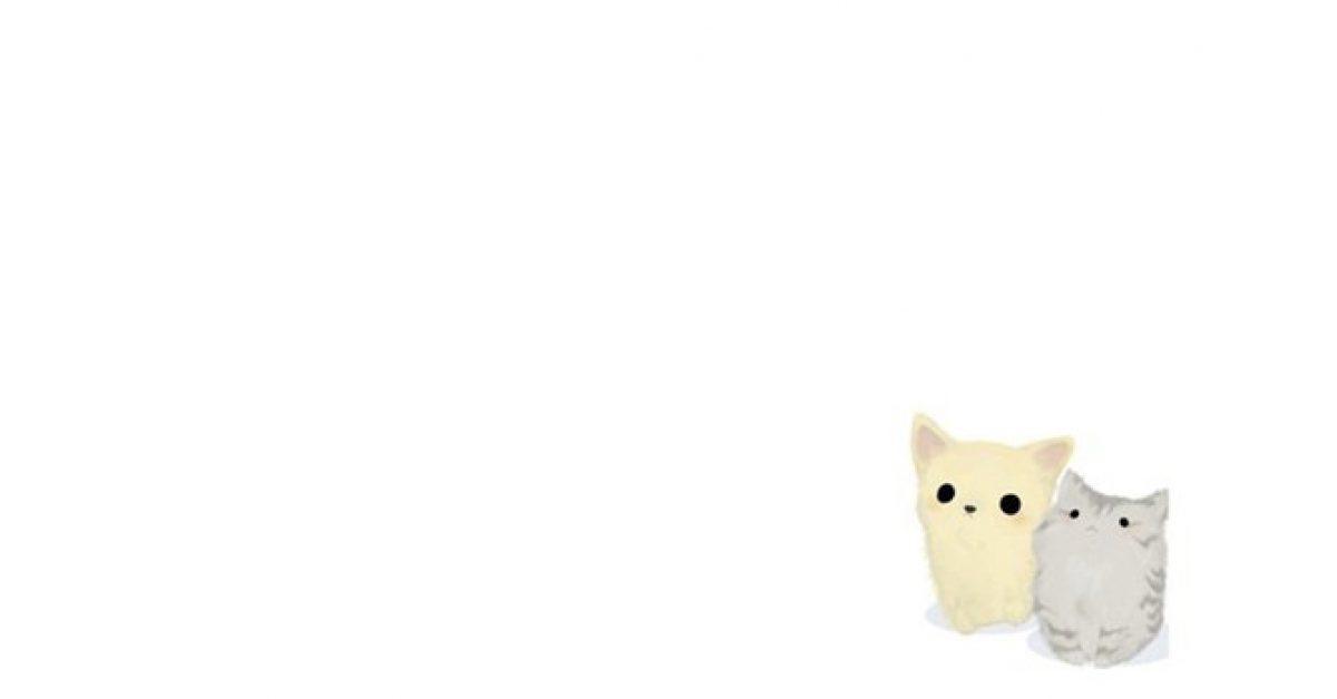 【PPT貓咪背景】高品質的1張PPT貓咪背景模板下載,靜態可愛小貓圖案的模板格式檔