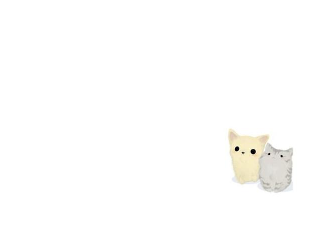 PPT貓咪背景 模板下載 | 天天瘋PPT