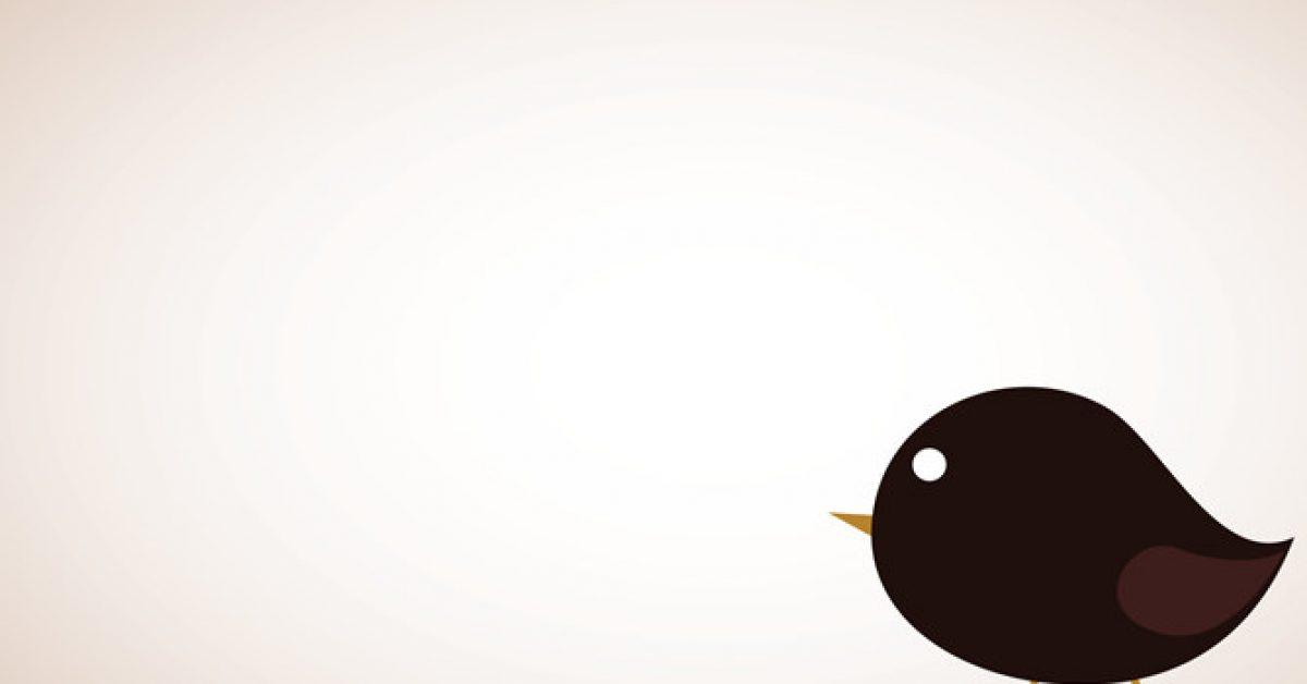 【PPT小鳥背景】高質感的1張PPT小鳥背景模板下載,靜態卡通小鳥素材的作業檔