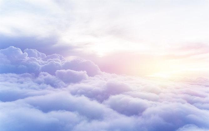 PPT雲海背景 模板下載 | 天天瘋PPT