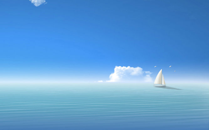 PPT帆船背景 模板下載 | 天天瘋PPT