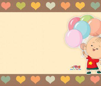 【PPT小孩背景】無暇的5張PPT小孩背景模板下載,靜態可愛孩子素材的編輯格式