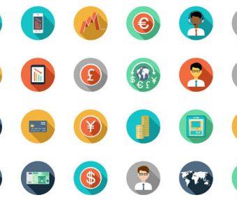 【PPT圓形icon】很棒的50個PPT圓形icon下載,靜態圓形扁平素材的作業檔