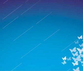 【PPT蝴蝶背景】齊全的2頁PPT蝴蝶背景模板下載,靜態藝術設計素材的範例格式