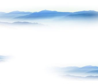 【PPT雲霧背景】高質感的2頁PPT雲霧背景模板下載,靜態山水寫意素材的下載格式