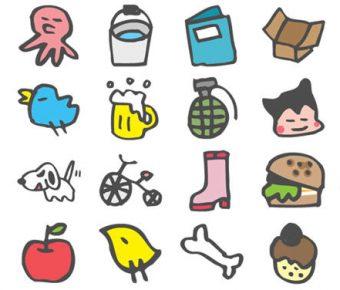 【PPT可愛素材】卓越的259個PPT可愛素材下載,靜態童話風ICON的範例格式