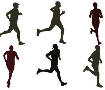 【PPT跑步圖案】極致的1頁PPT跑步圖案下載,靜態人物運動素材的素材檔