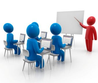 【PPT演講素材】精細的14張PPT演講素材下載,靜態小人物上課圖的模板格式檔