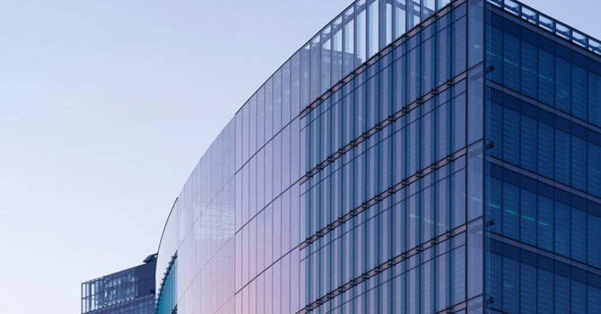 【PPT商業背景】細緻的11張PPT商業背景模板下載,靜態商務大樓圖案的樣式檔