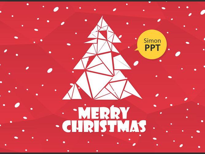 聖誕樹PPT 模板下載 | 天天瘋PPT