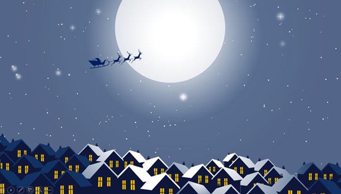 聖誕節卡片PPT 模板下載 | 天天瘋PPT