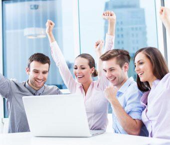 【PPT商務背景】無暇的11張PPT商務背景模板下載,靜態商業團隊素材的範本格式