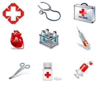【PPT醫療素材】完善的200個PPT醫療素材下載,靜態向量醫療圖案的檔案格式
