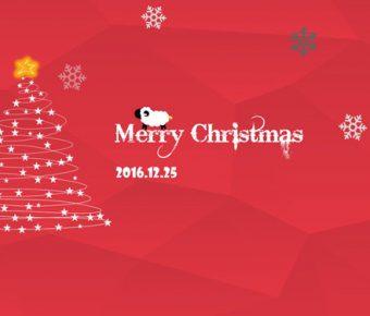 【PPT聖誕主題】創作感的18頁PPT聖誕主題模板下載,靜態時尚紅簡報的編輯格式