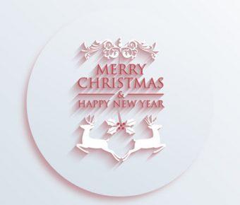 【聖誕節主題PPT】精細的16頁聖誕節主題PPT模板下載,動態麋鹿圖案範本的版型作業檔