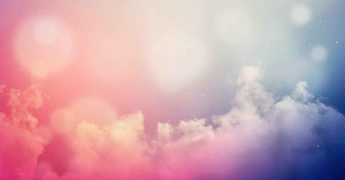 【PPT雲朵背景】大器的12張PPT雲朵背景模板下載,靜態夢幻雲底圖的版型作業檔