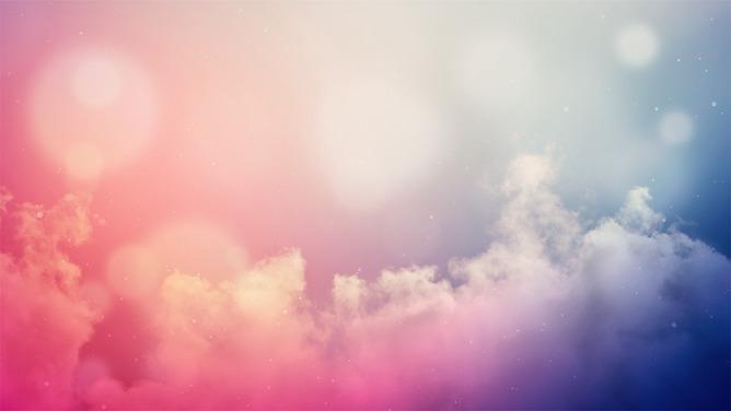 PPT雲朵背景 模板下載 | 天天瘋PPT