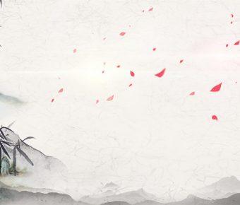 【中國畫背景】不錯的7張中國畫背景模板下載,靜態中式背景圖的模板格式