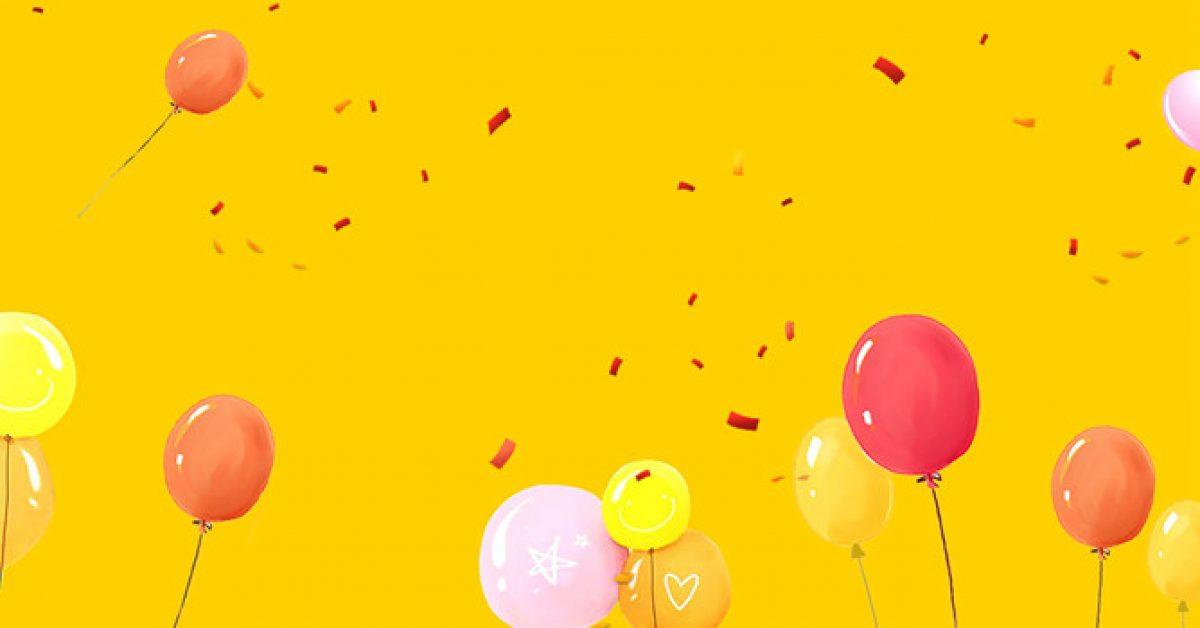 【PPT氣球素材】精細的5張PPT氣球素材模板下載,靜態氣球背景範本的素材檔